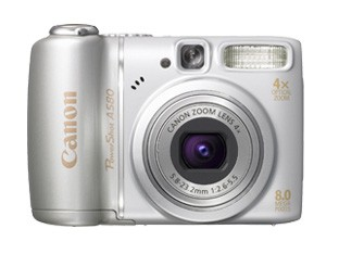 Canon 发表 A590 IS, A580, A470