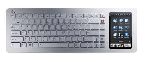 Asus 推出 Eee PC 1008HA, EeeKeyboard PC 等新品