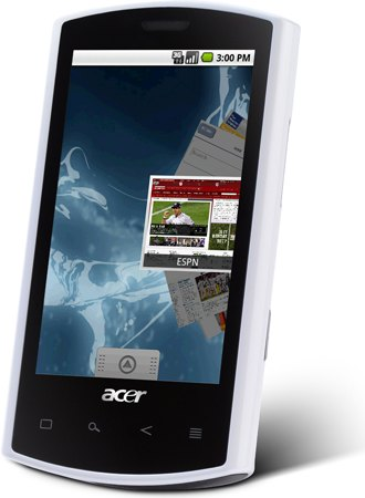 Android Donut 手机 Acer Liquid 上市