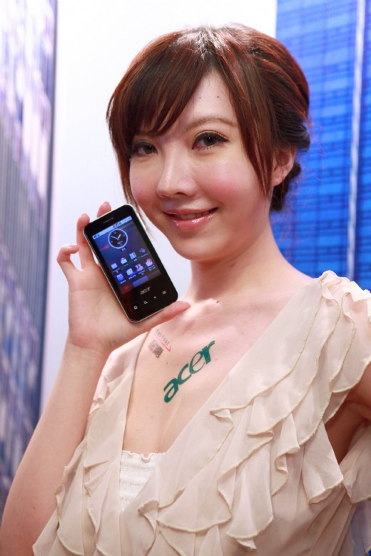 Acer E400: 不到万元 Android 2.1手机