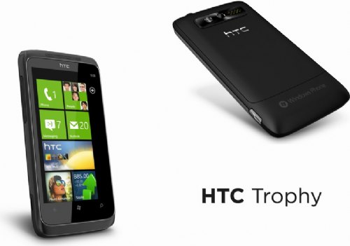 HTC发表 5款 Windows Phone 7 手机