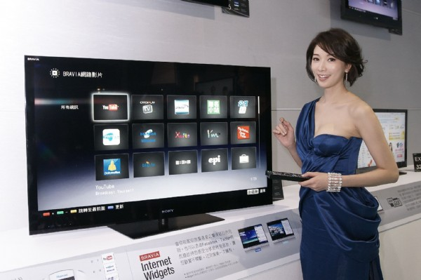 林志玲代言 Sony Internet TV