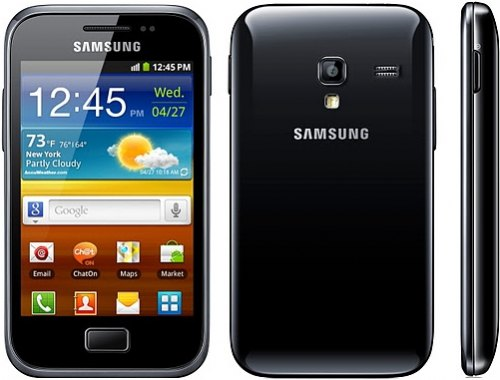 Samsung Galaxy Ace Plus $9500 上市
