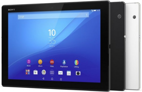 Sony Mobile 发表全球最轻薄 10吋防水平板 Xperia Z4 Tablet