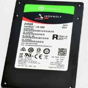 Seagate IronWolf 110 NAS SSD 實測